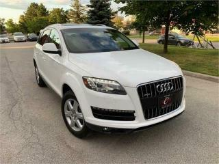 Used 2011 Audi Q7 TDI PANO ROOF 7PASS WARRANTY  DIESEL BLUTOOTH for sale in Concord, ON