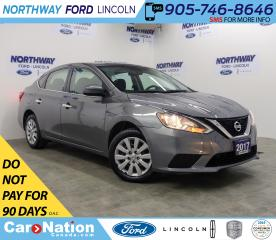 Used 2017 Nissan Sentra SV | HTD SEATS | BACK UP CAM | PUSH START | for sale in Brantford, ON