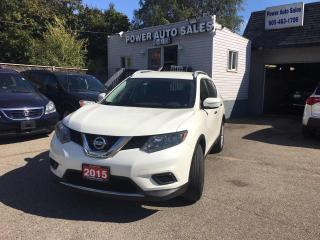 Used 2015 Nissan Rogue FWD 4dr S for sale in Brampton, ON
