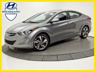 Used 2016 Hyundai Elantra GLS TOIT OUVRANT SIÈGES CHAUFFANTS BLUETOOTH for sale in Brossard, QC