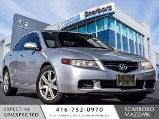 Used 2005 Acura TSX AUTO LEATHER SUN ROOF for sale in Scarborough, ON