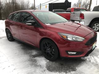 Used 2017 Ford Focus SEL with only 15500 km for sale in Perth, ON