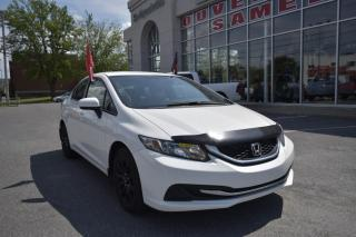 Used 2014 Honda Civic LX 4 portes CVT, mags for sale in St-Hubert, QC
