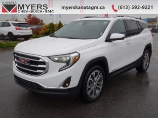 Used 2020 GMC Terrain SLT  - Sunroof - Navigation - Heated Seats for sale in Kanata, ON