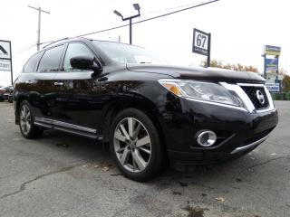 Used 2014 Nissan Pathfinder PLATINUM AWD NAVIGATION BOSE CAMERA 360 MAGS 20 for sale in St-Eustache, QC