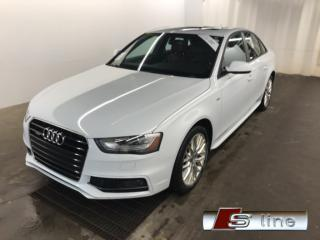 Used 2015 Audi A4 S-LINE QUATTRO CUIR TOIT MAGS 18 KIT DE JUPE for sale in St-Eustache, QC