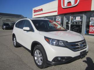 Used 2013 Honda CR-V EX-L for sale in Simcoe, ON