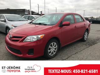 Used 2013 Toyota Corolla * CE * GR ELECT * PEA 02/2020 OU 120 000 KMS * for sale in Mirabel, QC