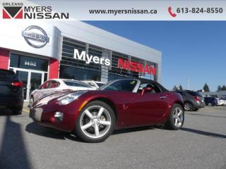 Used 2009 Pontiac Solstice 2DR CONV  - $246 B/W - Low Mileage for sale in Orleans, ON