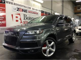 Used 2015 Audi Q7 quattro 4dr 3.0T Vorsprung Edition SLINE 7PASSAGÉS for sale in Blainville, QC