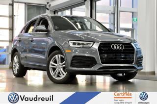 Used 2016 Audi Q3 2.0T Technik * S-LINE * NAV for sale in Vaudreuil-Dorion, QC