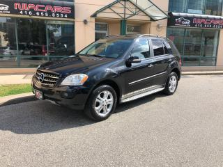 Used 2008 Mercedes-Benz M-Class 3.5L**NAVIGATION**NO ACCIDENT** for sale in North York, ON