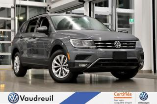 Used 2018 Volkswagen Tiguan Trendline * BLUETOOTH * BANCS CHAUFFANTS for sale in Vaudreuil-Dorion, QC