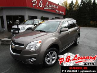 Used 2012 Chevrolet Equinox Lt awd siege chauffant camera bluetooth for sale in St-Prosper, QC