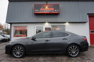 Used 2015 Acura TLX SH-AWD V6 AUTO CUIR TOIT OUVRANT CAMERA 105 876 KM for sale in Lévis, QC