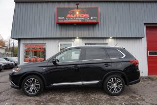 Used 2016 Mitsubishi Outlander GT S-AWC 7 PASSAGERS MAGS CUIR TOIT CAMERA 93 547 for sale in Lévis, QC
