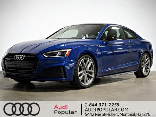 Used 2019 Audi A5 Progressiv 45 TFSI quattro for sale in Montréal, QC