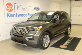 Used 2020 Ford Explorer 3 MONTH DEFERRAL! *oac | Platinum 4WD, heather/Cooled Leather Seats, NAV, Sunroof, 20