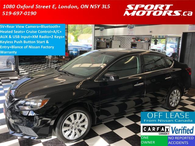 2017 Nissan Sentra SV+Camera+Bluetooth+Heated Seats*ONLY 32,000 KMs*