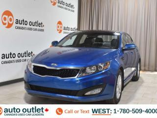 Used 2013 Kia Optima Lx, 2.4L I4, Fwd, Heated cloth seats, Sunroof/Moonroof, Bluetooth for sale in Edmonton, AB