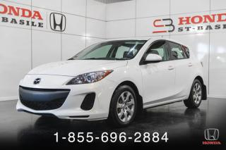 Used 2013 Mazda MAZDA3 Hayon 4 portes Sport, GX for sale in St-Basile-le-Grand, QC