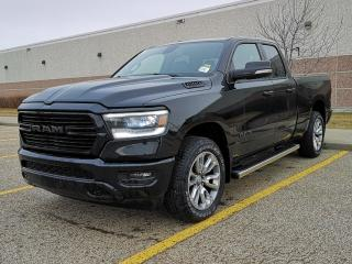 New 2019 RAM 1500 Sport 4x4 Quad Cab / Back Up Camera for sale in Edmonton, AB