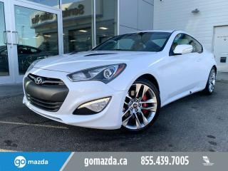 Used 2015 Hyundai Genesis Coupe 3.8 for sale in Edmonton, AB