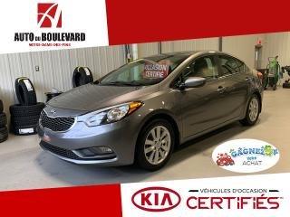 Used 2016 Kia Forte LX+ TOIT OUVRANT PRET HIVER for sale in Notre-Dame-des-Pins, QC