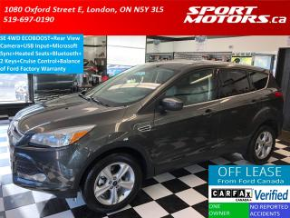 Used 2015 Ford Escape SE 4WD+Camera+Bluetooth+Hetaed Seats+USB Input for sale in London, ON