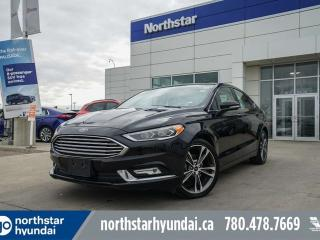 Used 2018 Ford Fusion TITANIUM/AWD/LEATHER/PANOROOF/BACKUPCAM for sale in Edmonton, AB