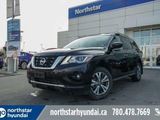 Used 2019 Nissan Pathfinder SV TECH/NAV/BACKUPCAM/HEATEDSEATS/7PASS for sale in Edmonton, AB