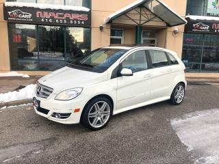 Used 2011 Mercedes-Benz B-Class B 200 Turbo**PANO ROOF**NO ACCIDENT** for sale in North York, ON