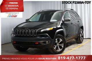 Used 2018 Jeep Cherokee TRAILHAWK* GROUPE REMORQUAGE* V6* for sale in Drummondville, QC