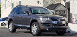 Used 2009 Volkswagen Touareg Diesel VW Warranty Certified Leather Navi Camera for sale in Mississauga, ON