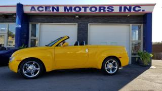 Used 2005 Chevrolet SSR HARD TOP CONVERTIBLE, PICK UP TRUCK for sale in Hamilton, ON