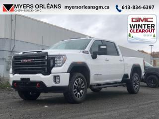 New 2020 GMC Sierra 2500 HD AT4  - Leather Seats - Sunroof for sale in Orleans, ON