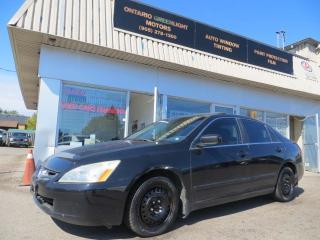 Used 2005 Honda Accord LEATHER,SUNROOF,AUTOMATIC for sale in Mississauga, ON