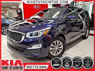 Used 2019 Kia Sedona LX+ * CAMÉRA DE RECUL / VOLANT CHAUFFANT for sale in St-Hyacinthe, QC