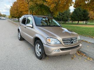 Used 2004 Mercedes-Benz M-Class for sale in Kelowna, BC