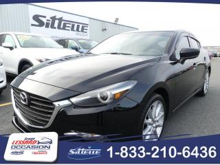 Used 2017 Mazda MAZDA3 Sport SPORT GT / TOIT / JAMAIS ACCIDENTE for sale in St-Georges, QC