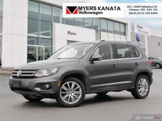 Used 2016 Volkswagen Tiguan Highline  - Navigation for sale in Kanata, ON