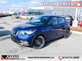 New 2019 Nissan Kicks S FWD  -  Touch Screen -  Fog Lights - $131 B/W for sale in Kanata, ON