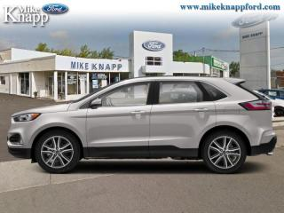 Used 2019 Ford Edge Titanium AWD  - Leather Seats -  Heated Seats for sale in Welland, ON