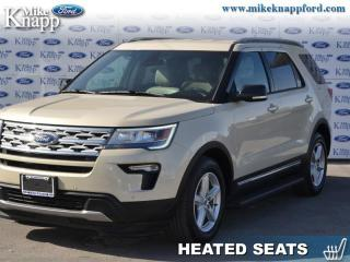 Used 2018 Ford Explorer XLT  -  Bluetooth - Low Mileage for sale in Welland, ON