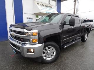 Used 2015 Chevrolet Silverado 3500 LTZ Z71 4x4, Crew, DIESEL, Nav, Sunroof, One Owner for sale in Langley, BC
