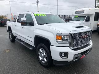 Used 2019 GMC Sierra 3500 DENALI 6.6L DURAMAX DIESEL for sale in Langley, BC