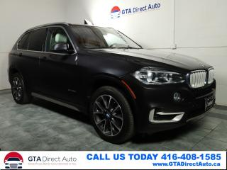 Used 2015 BMW X5 xDrive35d AWD Diesel Nav Pano Cam LeatherCertified for sale in Toronto, ON