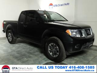 Used 2018 Nissan Frontier Pro-4X 4X4 Nav KingCab Camera 6-Speed Certified for sale in Toronto, ON
