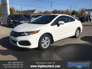 Used 2014 Honda Civic Coupe LX for sale in London, ON