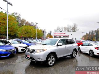 Used 2011 Toyota Highlander LIMITED 4WD for sale in Port Moody, BC
